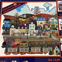 Ceaco Jane Wooster Scott 12:0 9 Su Tempo di Nuovo Bacheca 528 Puzzle Manca 2 Pz - $6.24