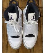 Nike Air Jordan SON OF MARS WHITE PURPLE COOL CEMENT GREY BLACK 512245-1... - $69.30