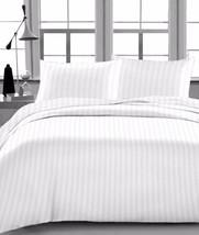 Luxury Brand New 1000 Tc Queen 4pcs Sheet Set White Stripe , Egyptian Co... - $39.99