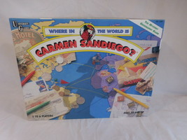 Where In The World Is Carmen Sandiego? Board Game 1992 - $16.02