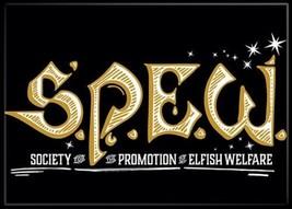 Harry Potter S.P.E.W. Society Elfish Welfare Logo Refrigerator Magnet NEW UNUSED - $3.99