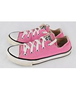 Converse all star girls pink canvas low top sneakers chuck taylor size 1 - $16.61
