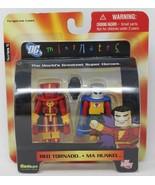 DC Direct Minimates Wave 5 RED TORNADO AND MA HUNKEL Art Asylum - £3.35 GBP