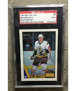 Cam Neely Signed 1987-88 O-Pee-Chee Card OPC Bruins SGC Slabbed #AU142287 - $24.99