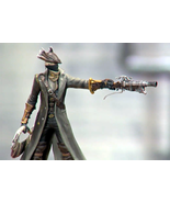 Modern Icons #5 Bloodborne Hunter Statue Figure PVC Playstation Official - $109.99