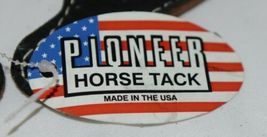 Pioneer Horse Tack 3575 Black Overlay Youth Spur Straps image 5