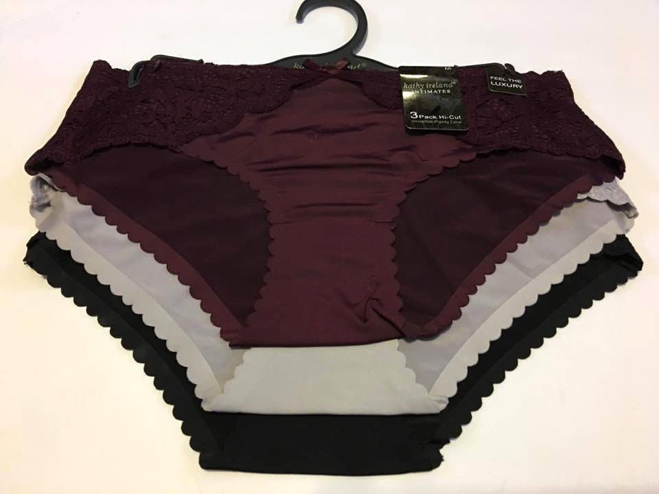 b645d916850c6 Kathy Ireland Intimates 3-pack Hipster and 50 similar items. 57
