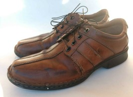 Clark's Men's 9 M Brown Leather Oxfords - $24.73