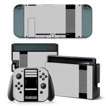 SNES Retro Super Switch Nintendo Switch Joy-Con Dock Vinyl Skin Stickers Decals - $7.43