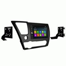 DVD GPS Navigation Bluetooth Multimedia Radio and Dash Kit for Honda Civ... - $306.78