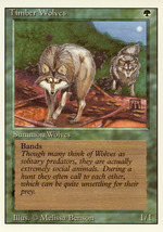Magic: The Gathering 3rd Edition - Timber Wolves - $0.25