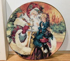 Avon Fine Collectibles The Wonder of Christmas 1994 Christmas Dish Plate - $2.96