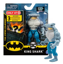 """The Caped Crusader King Shark 4"""" Action Figure with 3 Mystery Accessories MIB - $16.88"""