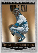 1996 Upper Deck Retail Predictor #R59 Mike Piazza NM-MT Dodgers - $2.27