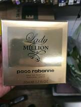 Lady Million By Paco Rabanne 1.7 oz/ 50 ml Eau De Parfum Spray Women Nib Sealed - $44.50