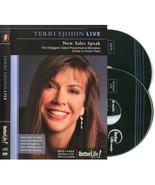 Terri Sjodin Live ◆ New Sales Speak 9 Sales Mistakes ◆ DVD ✚CD Better Li... - $18.95