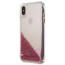 Case-Mate Waterfall Liquid Glitter Case for Apple iPhone XS Max - Rose Gold - $12.64