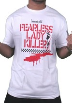 In4mation Hawaii Mens White Come and Get it Fearless Lady Killer T-Shirt NWT