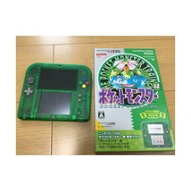 Nintendo 2DS Pokemon Pocket Monster Game Console Green Limited Pack Ver 2 DS - $123.07
