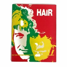 Vintage 1969 Hair The Musical Program American Tribal Love Rock Musical ... - $17.56