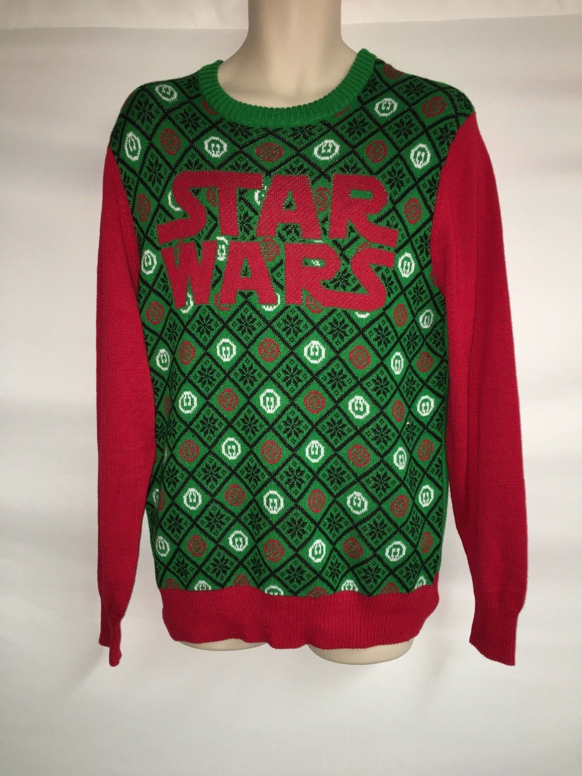 Primary image for Star Wars Ugly Christmas Sweater Mens Medium NWT