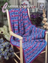 Caribbean Waves Afghan Annie's Crochet Pattern/Instructions Leaflet - $2.40