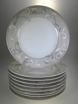 Studio Nova Jewel Tones Beige Salad Plates Set of 9 - $47.08