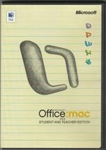 Microsoft Office:mac 2004 Student & Teacher Edition - $24.12