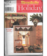 Simplicity 7914 Holiday Pattern Collection Christmas Decorations Decor S... - $11.00
