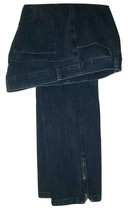Soft Surroundings Women's  Zip Leggings Pull On  Denim Jean Size Medium  - $24.99