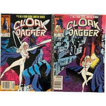 CLOAK AND DAGGER # 1 & # 2 1983 VOL 1 ~MARVEL COMICS~ BRONZE MCU - $0.98