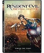 Resident Evil: The Final Chapter (DVD, 2017) - $13.95
