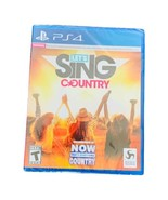 New! Sealed! Ps4 Game - Let's Sing Country - Playstation 4 - Now What I ... - $11.39
