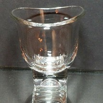 """1 (One) VINTAGE CAMBRIDGE GLASS Crystal """"Square"""" Open Sugar Mid Century - $15.33"""