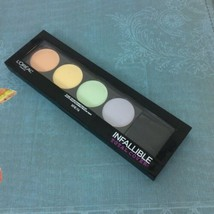 L'Oreal Infallible Total Cover Pro Color Correcting Palette  #225 0.17 oz Expire - $14.95