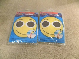 Lot of (2) Splash n-Swim Smiley Face Inflatable Beach Balls FREE SHIPPING! - $9.89