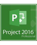 Microsoft Project Professional 2016 - 32/64-bit Key with Download - $8.90