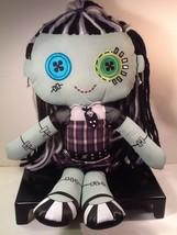"MONSTER HIGH FRANKIE STEIN Mattel Cloth Rag Plush Stuffed 2013 Doll 18"" - $11.85"