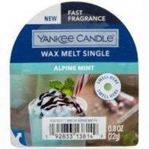 Yankee Candle Alpine Mint Wax Melts (6) Six - $18.00