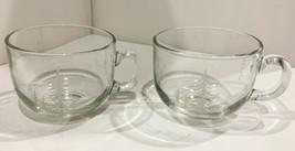 Starbucks 17 oz Clear Glass Christmas Tree Mugs (Set of 2) - $23.75