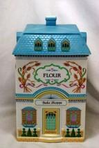 Lenox 1990 The Lenox Village Victorian House Flour Canister - $41.57