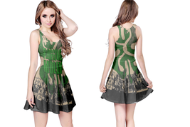 flogging molly  WOMENS REVERSIBLE SLEEVELESS SHORT MINI DRESS - $17.99+