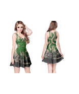 flogging molly  WOMENS REVERSIBLE SLEEVELESS SHORT MINI DRESS - $17.99+