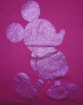Disney Mickey Mouse Women's Beaded & Sparkle Shirt Size Small image 2