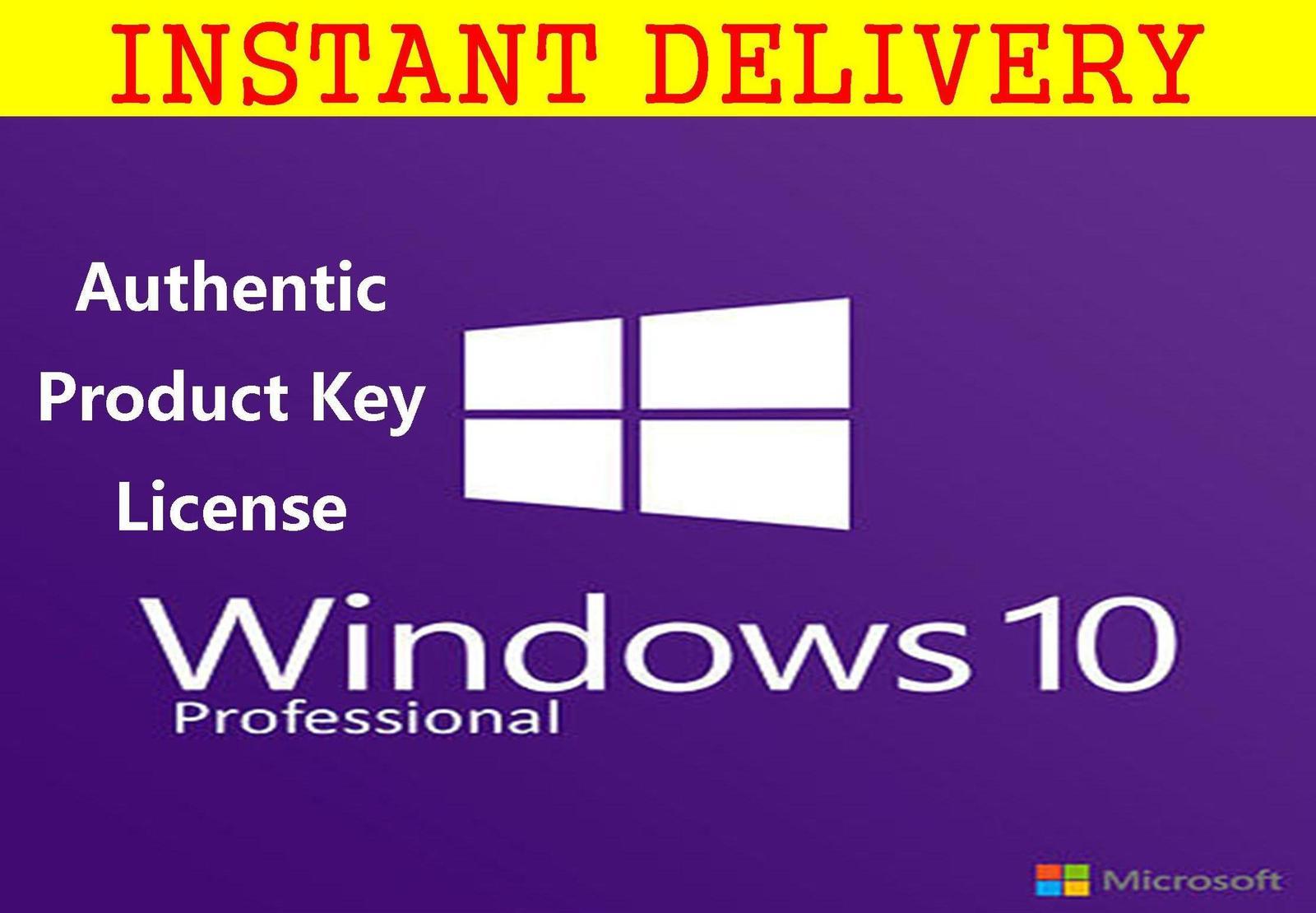 Windows 10 Pro 32/64 Authentic Product Key and 50 similar items