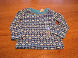 The Children's Place girls 12 month L/s shirt NWT NEW blue long sleeve s... - $3.20