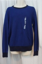 Tommy Hilfiger Mens Sweater Sz L Blue Boston Fashion Cotton Casual Sweater - €33,87 EUR