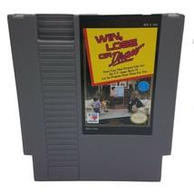 Win,Lose O Draw (Nintendo Entretenimiento Sistema) Cart Solamente -nes Limpiar & - $8.91