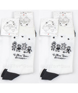 "NWT 2 Pair of Children Socks by Enesco ""Follow Your Dream"" Black & White... - $19.99"
