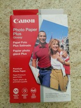 Canon 120 Sheets Photo Paper Plus Glossy New In Box - $22.72